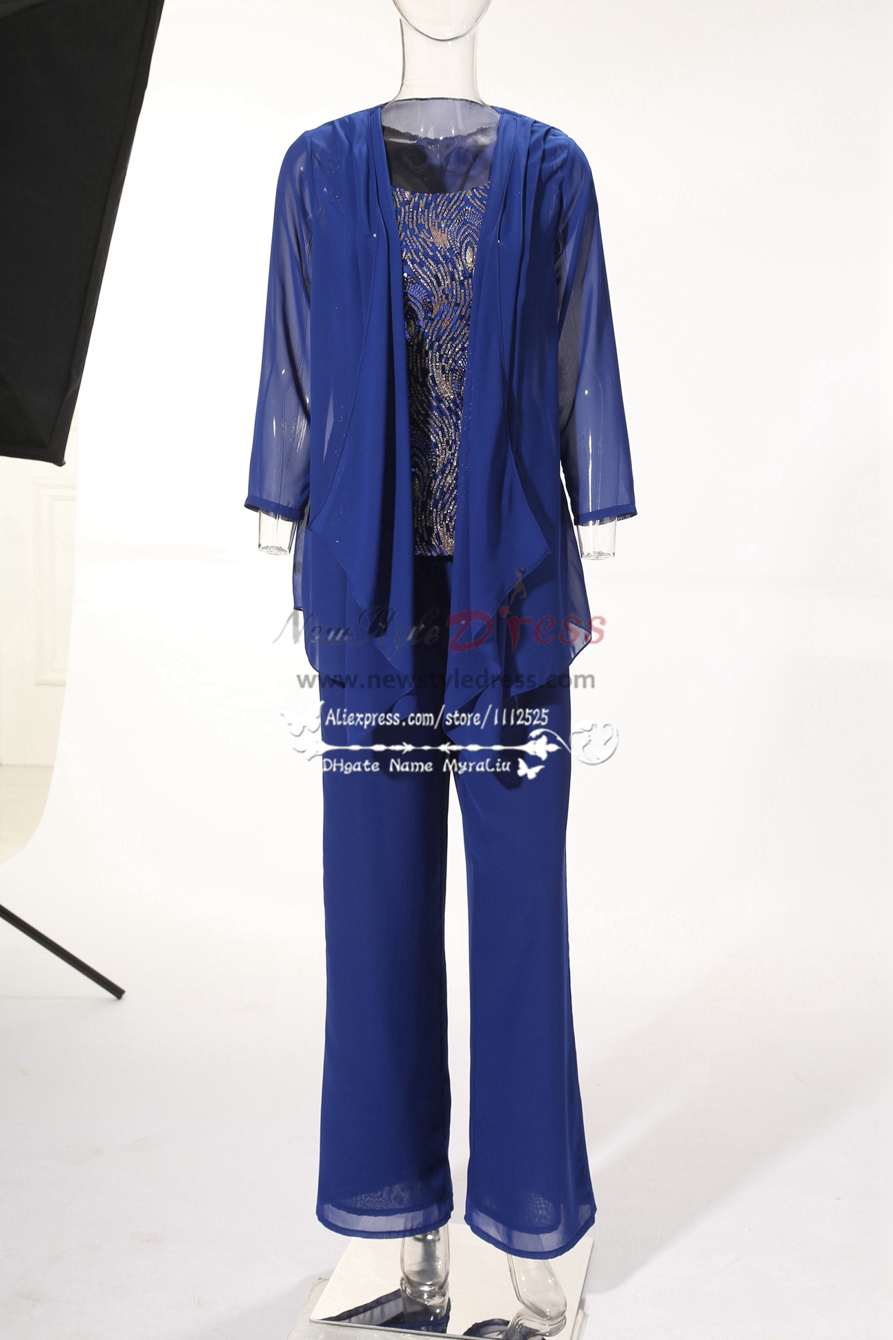 Champagne Simple Chiffon mother of the bride pant suits nmo $ $ You save: $ 13 Review(s) New arrival Dark Navy Chiffon Comfortable Mother of the Bride Dresses pant suit for wedding party. $ $ You save: $ Royal blue Mother of the bride dresses with shawl Chiffon outfit for beach.