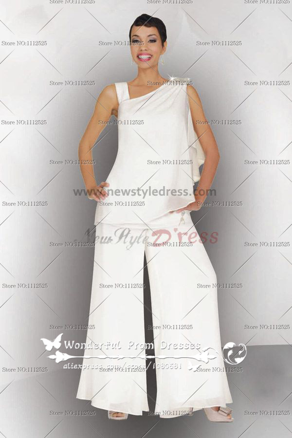 Two Piece mother of the bride pants suits Summer nmo-062
