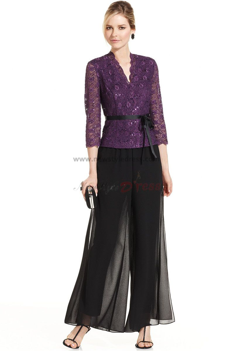 Mother Of The Bride Fall Dresses With Jackets of the bride dresses pant