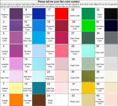 Please pay $25 for color swatches