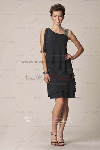 Informal black Glamorous lovely Cheap chiffon mother