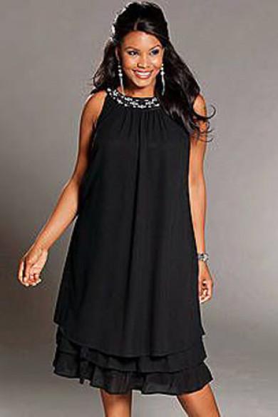 Black Loose Hot Sale lovely Glamorous short Women