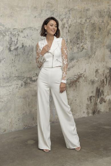 Elegant Wedding Guest Outfits 2 Piece lace Bride Suits wps-221