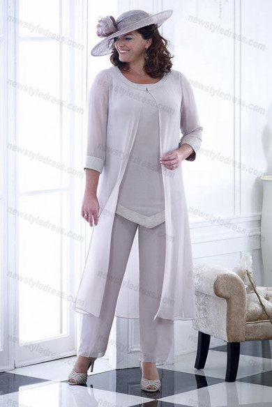 Plus size Mother of the bride Trousers women