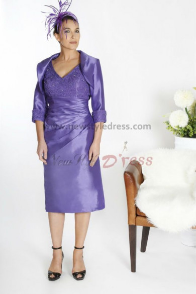 Hot Sale Elegant Mother of the bride suit dress cms-020
