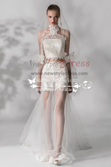 Nifty lace pants wedding dress New arrival wps-016