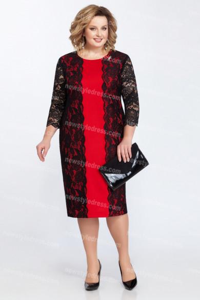 2021 Fashion Golden Black Lace Mother Of the Bride Dresses Plus Size Women