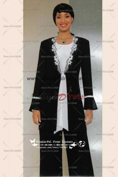 Black Elegant Hand Beading Latest Fashion Ms