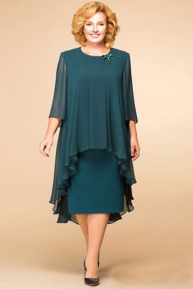 Dark Green Plus Size Modern Mother Of The Bride Dresses Free Shipping