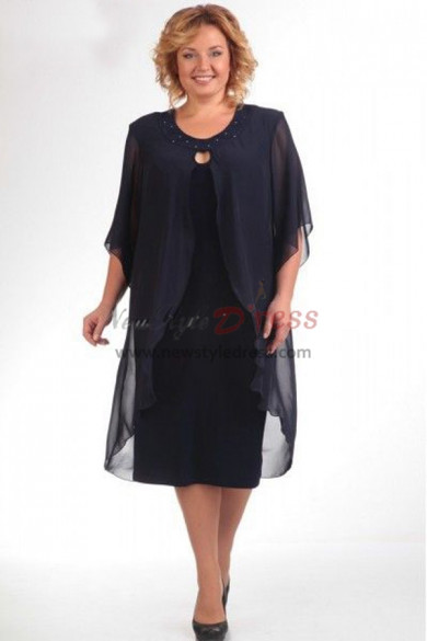 Hot Sale Dark Navy Spring Mother Of The Bride Dresses nmo-372