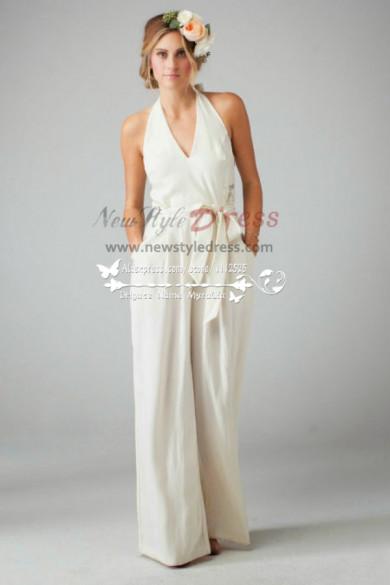 Lovely bridal jumpsuit dress sposa pantaloni wps-013