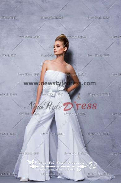 Glamorous Strapless Jumpsuits Fashion women