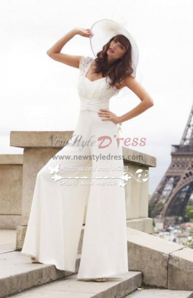 Latest Fashion Off the Shoulder  bride outfit wps-055