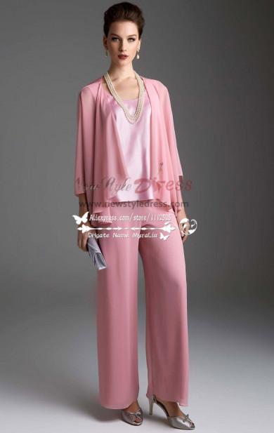 Pink chiffon women
