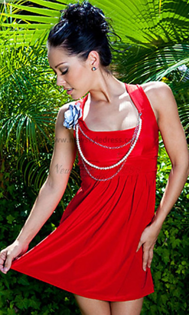 Halter Sexy Above Knee Cheap Cocktail dresses nm-0208