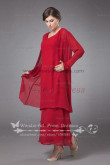 2018 Fashion Loose red Mother of the bride dress cms-021