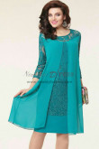2019 Modern Loose Jade Green Mother Of The Bride Dresses nmo-356