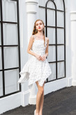 2019 High-low Sexy Homecoming Dresses Elegant Party dresses wps-200