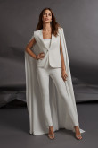 2021 Split SleeveTwo kinds of Wears Wedding Jumpsuit Guests Outfits wps-213