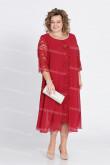 2021 Plus Size Mother Of The Groom Dress Burgundy Women's Dress nmo-722-5