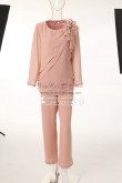 2PC Mother of the bride chiffon pants suits MT0017015