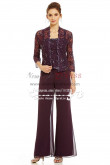 3PC Elegant mother of the bride pant suits dress Lace outfit for Summer wedding Custom made nmo-255