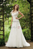 Glamorous Sweetheart Appliques Good comment Cheap wedding dress with Wedding Wraps nw-0238