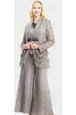 Lace Three Piece mother of the bride dresses pants suit Latest Fashion nmo-065