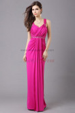Latest Fashion Elegant Tank rose red Empire Evening Dress np-0345