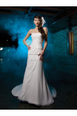 Sheath Embroidery Chiffon Cheap Glamorous Best Sale wedding dresses nw-0242