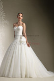 Sweetheart A-Line Sweep Train Glamorous Princess Wedding Dress nw-0304