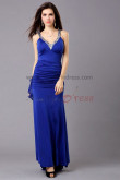 Sweetheart Royal Blue Sequins Neckline Draped Gorgeous Informal prom dresses np-0334