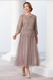 Ankle-Length Mother of the bride /Groom dresses nmo-462