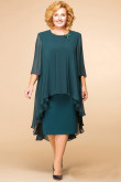 Dark Green Plus Size Modern Mother Of The Bride Dresses nmo-361
