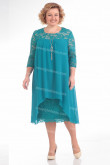 Plus Size Greenblack Mother Of The Bride Dress High Low Women's Dresses nmo-725-3