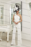Hot Sale One Shoulder Ivory Women's jumpsuits nmo-678