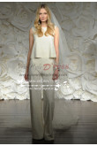 Modern Wedding bride suit dress wps-052