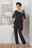 New arrival Mother of the bride pant suits Two piece wedding pants dress nmo-423