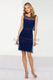 New Arrival Royal Blue Tiered Dressy dresses nmo-338