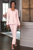 2019 Spring Mother of the bride pant suits dresses Women pants outfit  Pink nmo-458