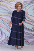 Plus Size Dark Navy Mother of the bride Dresses Women's Outfits nmo-730-1