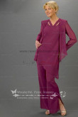purple modern spring mother of the bride dress pants sets nmo-087