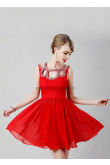 Red Unique Neckline Above Knee Sexy Homecoming Dresses under 100 nm-0246