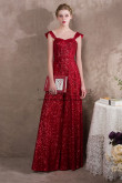 Red Sequins Prom Dresses Jumpsuits Wide leg trouser NP-0405