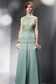Sexy Green chiffon wedding Jumpsuit with hand beading nmo-238