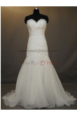 Sheath Zipper-Up Sweep Brush Train Ruffles Natural wedding dresses nw-0012