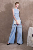 Sky Blue Delicate Hand beaded Prom dresses Vest Jumpsuits NP-0409