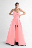 Strapless Short pant with Bow Pink Disassemble Train prom dress wps-203