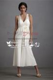 Wedding dresses culottes  Jumpsuit Tea-Length pants wps-007