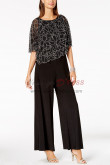 Women Beaded Poncho Jumpsuit Mother of the bride pantsuit nmo-385